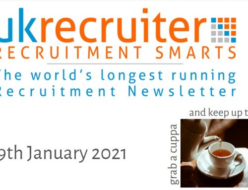 Recruitment Smarts #969 – UK Recruiter