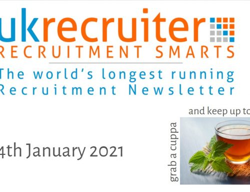 Recruitment Smarts #967 – UK Recruiter