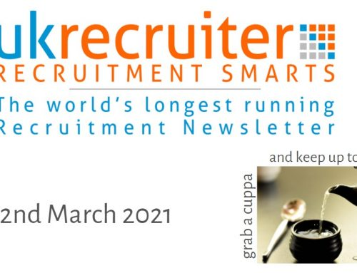 Recruitment Smarts #975 – UK Recruiter